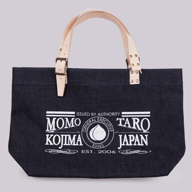 Сумка Momotaro B-20 Denim Tote Bag Indigo