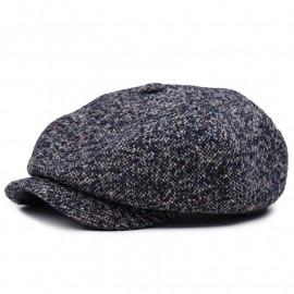 Классическая кепка Zefear Восьмиклинка Американка 809 Ferrara - Темно-синяя