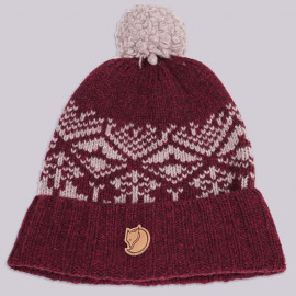 Шапка Fjallraven Snow Ball Hat 356 Dark Garnet