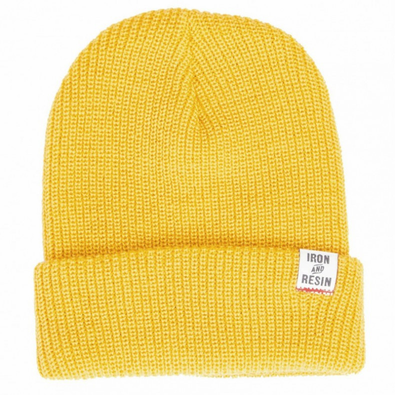 Шапка Iron and Resin Watchman Beanie Gold