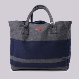 Сумка Armour-Lux Cabas Grey / Navy Stripe