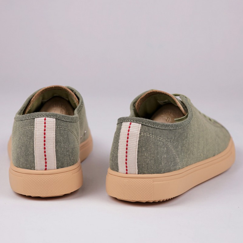 Кеды CLAE Herbie Textile Aloe Green Chambray