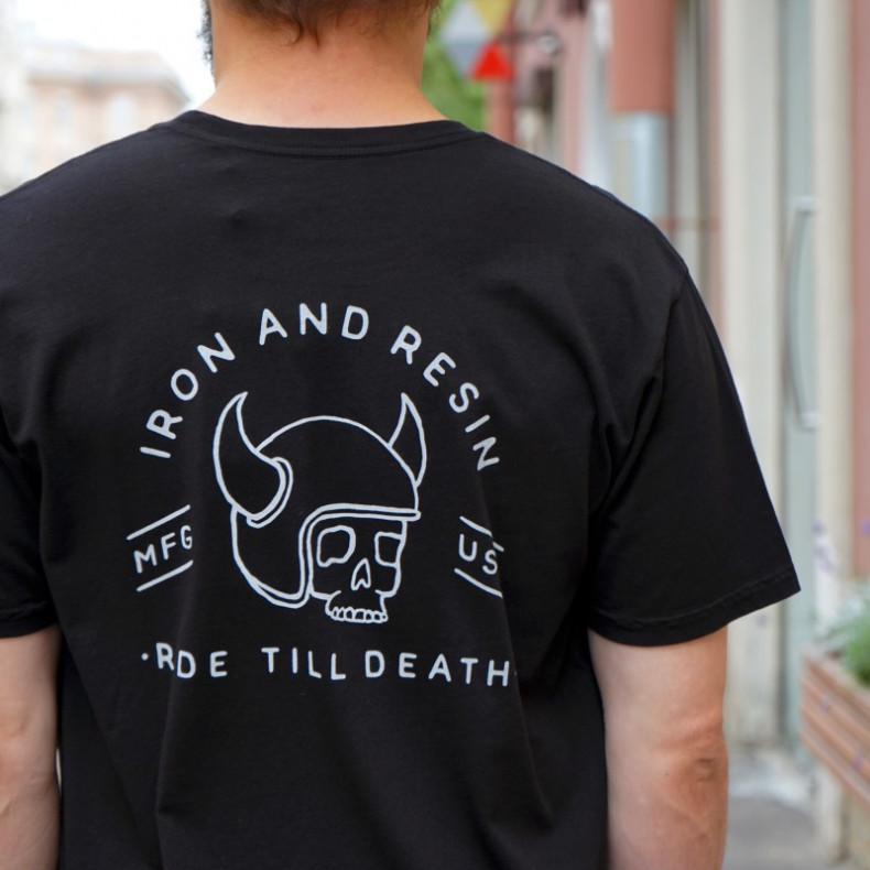 Футболка Iron and Resin Ride Till Tee Black