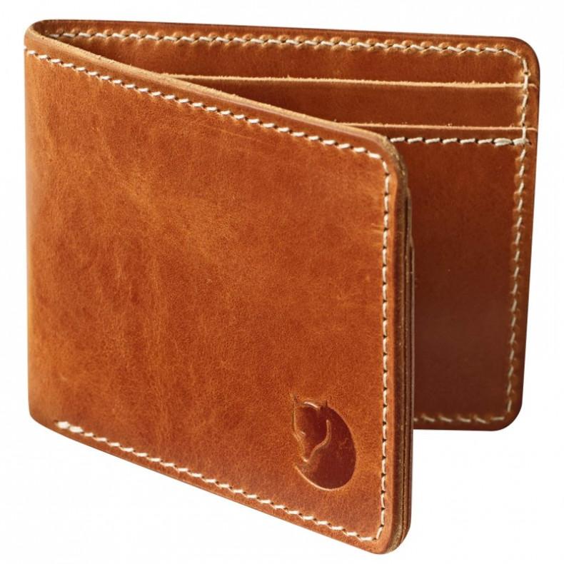Кошелек Fjallraven Ovik Wallet 249 - Leather Cognac