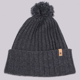 Шапка Fjallraven Byron Pom Hat 030 Dark Grey