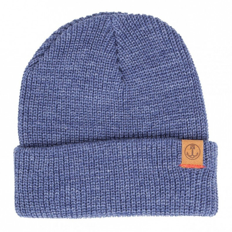 Шапка Iron and Resin Marksman Beanie Denim Heather
