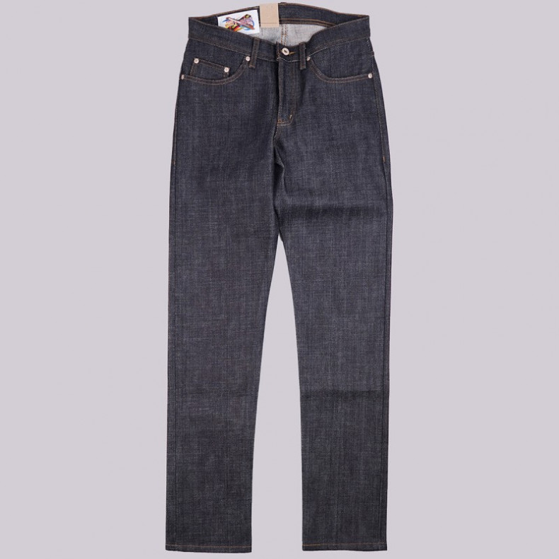 Джинсы Naked and Famous Weird Guy E Honda Heavyweight Sumo Selvedge 21 oz Raw