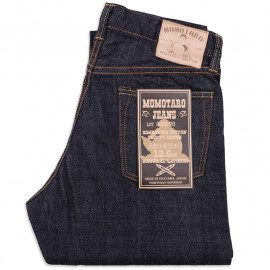 Джинсы Momotaro Jeans 0605-70 Natural Tapered 13.5 Oz Zimbabwe Cotton Slubby Selvedge One wash