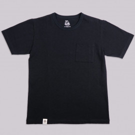 Футболка Momotaro Jeans 07-049 Zimbabwe Cotton Pocket T-Shirt Black