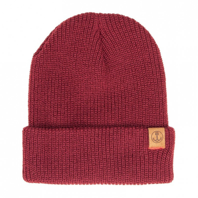 Шапка Iron and Resin Marksman Beanie Oxblood