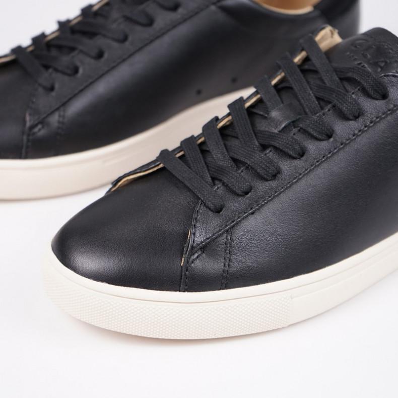 Кеды CLAE Bradley Black Milled Tumbled Leather