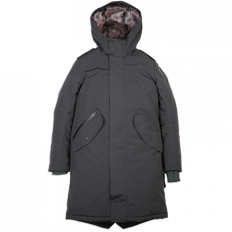 Зимняя Куртка Loading 7206 Fishtail Parka Dark Green