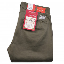 Брюки Big John Jeans F804-76 Chino Twill Slim Trouser Green