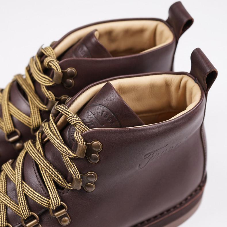Ботинки Fracap M120 Scarponcino Bruciato /Ripple Sole Ambra