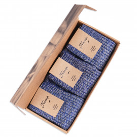 Носки Fracap Melange Socks Box - Blue