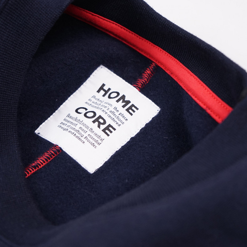 Толстовка Homecore Sweat Small Logo Navy