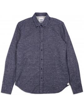 Рубашка Homecore Tokyo Ash Speckled Navy Black