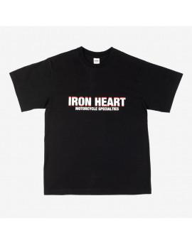 Футболка Iron Heart IHT-2102-BLK 7.5oz Printed Loopwheel Crew Neck T-Shirt - Black