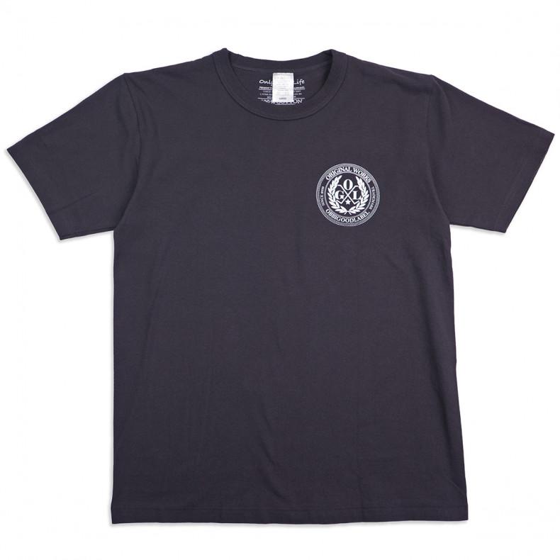 Футболка OGL 6.2oz Ringspun T-Shirt - Silkscreen Printed 'OGL Logo' - Charcoal