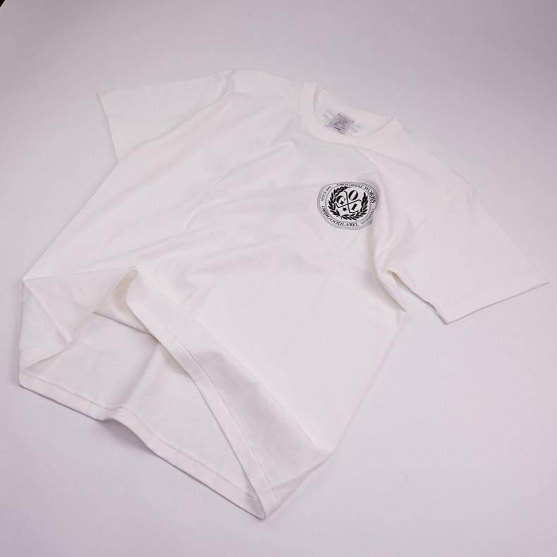 Футболка OGL 6.2oz Ringspun T-Shirt - Silkscreen Printed 'OGL Logo' - Cream