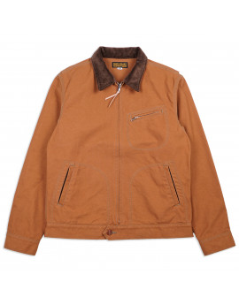 Куртка Iron Heart 17oz Cotton Duck Work Jacket - Brown