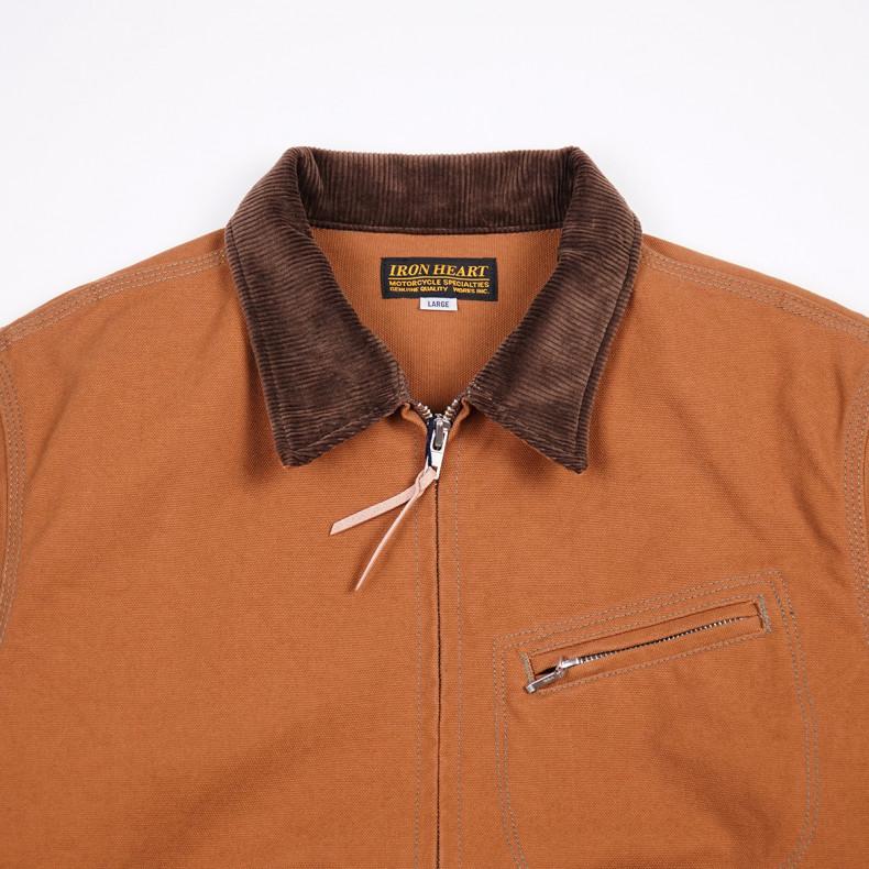 Куртка Iron Heart 17oz Cotton Duck Work Jacket - Brown