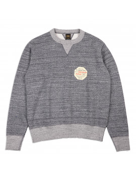 Толстовка Iron Heart Heavy Loopwheel Fleece Lined Sweater - Grey Marl