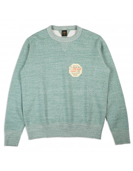 Толстовка Iron Heart Heavy Loopwheel Fleece Lined Sweater - Mint Green