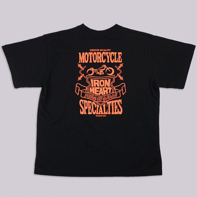 Футболка Iron Heart IHT-1904 - 7.5oz Print T-shirt Shield Pattern