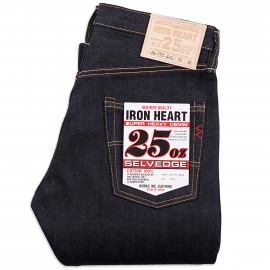 Джинсы Iron Heart IH-777-XHS Super Slim Tapered 25oz Selvedge