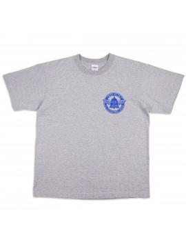 Футболка Iron Heart IHT-1906 7.5oz Print T-shirt Flying Wheel Pattern Grey