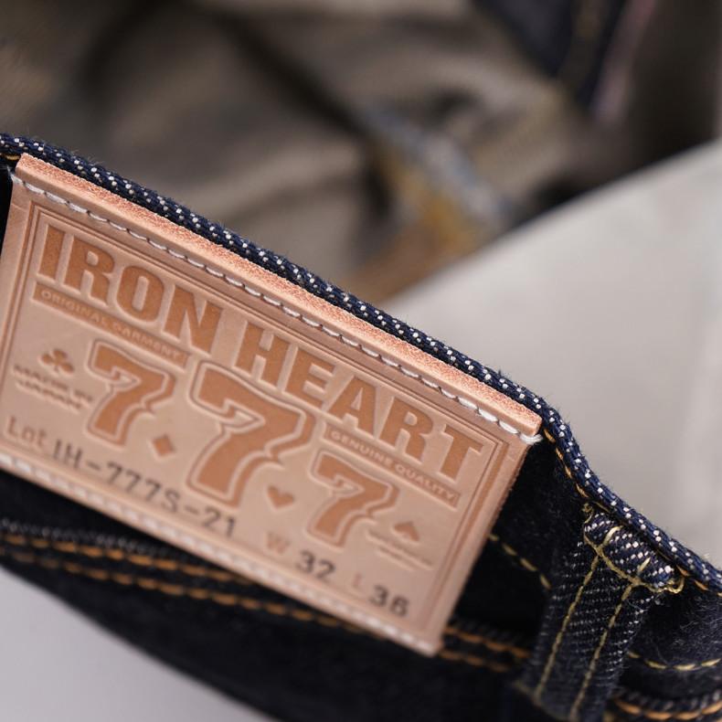 Джинсы Iron Heart IH-777S-21 Super Slim Tapered Indigo 21oz Selvedge