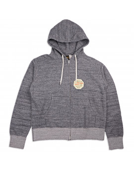 Толстовка Iron Heart IHSW-41 Heavyweight Loopwheel Fleece 12oz Zip Marl Grey