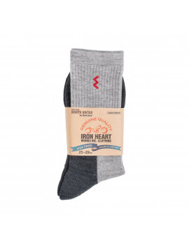 Носки Iron Heart Work Boot Socks - Grey