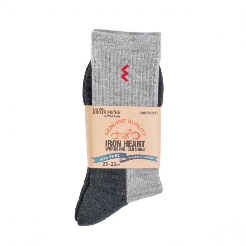 Носки Iron Heart Work Boot Socks - Grey