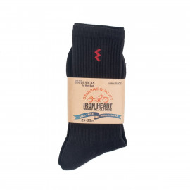 Носки Iron Heart Work Boot Socks - Black