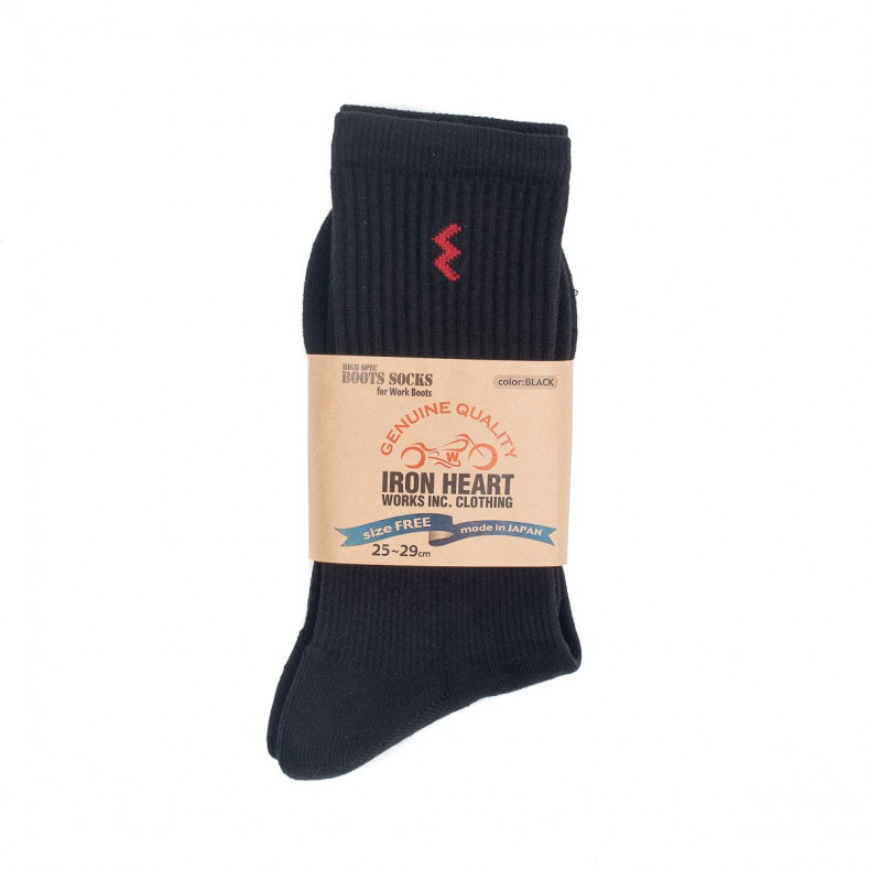 Носки Iron Heart Work Boot Socks - Black