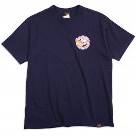 "Футболка Iron Heart IHT-Had 7.5oz Printed Loopwheel T-Shirt ""Hard as Duck"" - Navy"