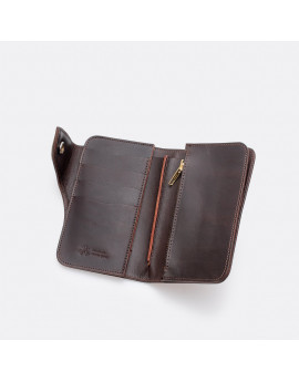 Кошелек OGL Leather Medium Trucker Wallet Brown