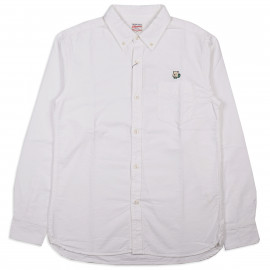 Рубашка Momotaro Jeans 05-230 Button-down Oxford Shirt White