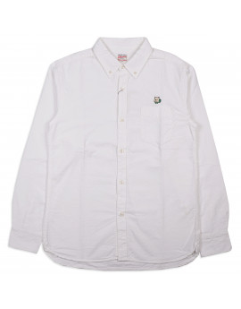 Рубашка Momotaro Jeans 05-230 Button-down Oxford Shirt White