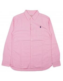 Рубашка Momotaro Jeans 05-230 Button-down Oxford Shirt Pink