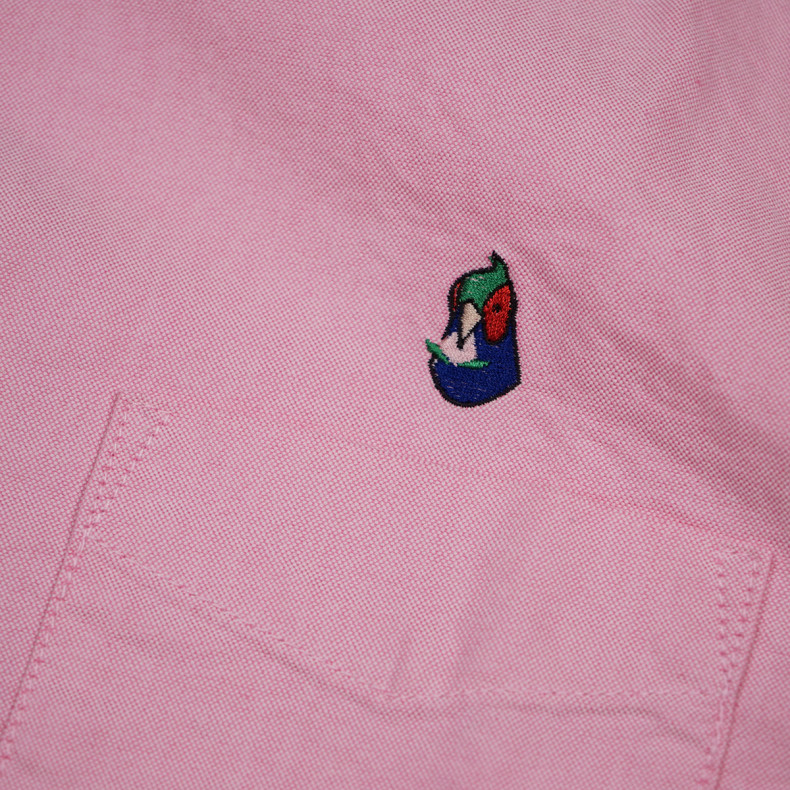 Рубашка Momotaro Jeans 05-230 Button-down Oxford Shirt Pink