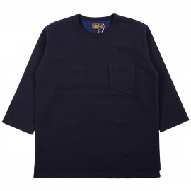 Футболка-свитшот Japan Blue Jeans JBST02 18GG Super Hard T-shirts Navy