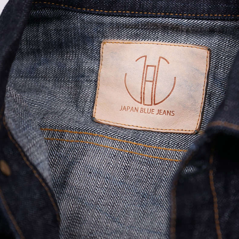 Джинсовая куртка Japan Blue Jeans JBJK1012-J Type 2 Jacket 16.5 oz Selvedge - One wash