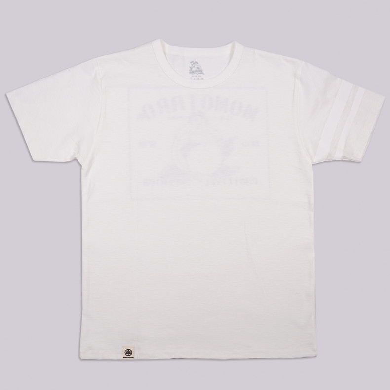 Футболка Momotaro Jeans 07-072 Patch Design Print T-shirts white