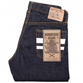 Джинсы Momotaro Jeans 0405-SP Hi-tapered Fit 15.7oz Zimbabwe Cotton Selvedge - One Wash
