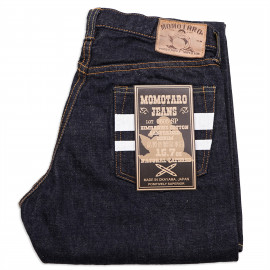 Джинсы Momotaro Jeans 0605-SP Regular Tapered Zimbabwe Cotton Selvedge 15.7 Oz GTB One Wash