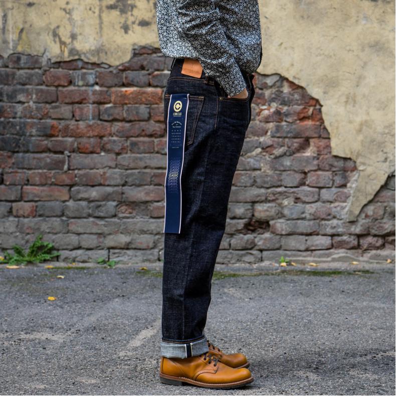 Джинсы Japan Blue Jeans J466 Classic Straight — L32 Cote d'Ivoire Cotton Selvage 16.5 oz (Monster) Zipper