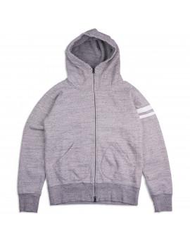 Толстовка Momotaro Jeans 07-044 GTB zip-up Sweatshirt Grey